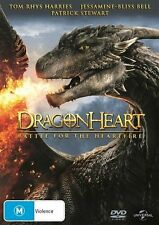 Dragonheart 4 - Battle For The Heartfire (DVD, 2017) NEW