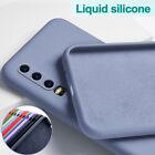 For Huawei P40 Pro P30 P20 Lite Mate 20 30 Lite Liquid Silicone Case Soft Cover