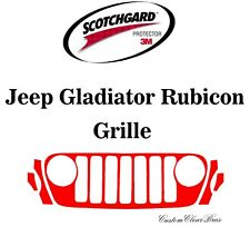 3M Scotchgard Paint Protection Film Clear Kit 2020 2021 Jeep Gladiator Rubicon