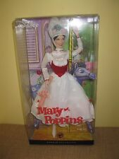Barbie Collector Disney Mary Poppins Doll*Pink Label*2007 umbrella Andrews