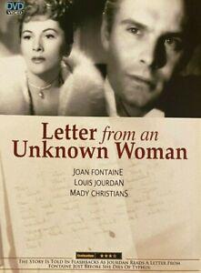 Letter from an Unknown Woman (1948) - Joan Fontaine & Louis Jourdan (Region All)