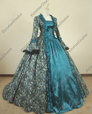 Renaissance Fair Georgian Princess Dress Ball Gown Theatrical Quality Wear 119 L