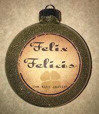 HARRY POTTER INSPIRED FELIX FELICIS CHRISTMAS TREE ORNAMENT HANDMADE DECORATION