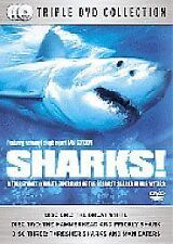Sharks (DVD, 2007) Triple DVD Collection