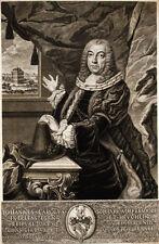 1754 Nürnberg Erlenstegen Scheurl von Defersdorf Kupferstich-Porträt Windter