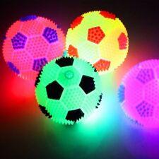 Fussball Leuchtball Springball LED Licht Flummi Kindergeburtstag Party Mitgebsel