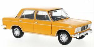 FIAT 125 - orange - WhiteBox 1:24