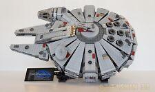 """KIT LEGO """" BLACK """"  Stand Vertical  pour Millennium Falcon 75105 - 7965 - 75212"""