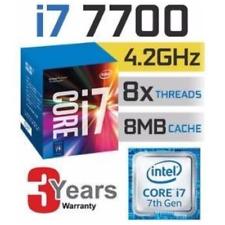 Intel Core i7-7700 3.6 GHz Quad-Core (BX80677I77700) Processore