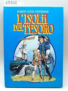 Robert Louis Stevenson L'isola del tesoro a fumetti Società San Paolo 1986