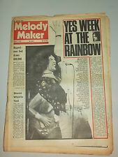 MELODY MAKER 1973 AUGUST 4 YES NAZARETH LED ZEPPELIN THE ROLLING STONES