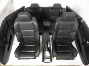 BMW 5er E61 Touring M-Paket Sport Sitzausstattung Leder Dakota schwarz SHZ