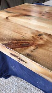 Reclaimed Pine Kitchen Worktop