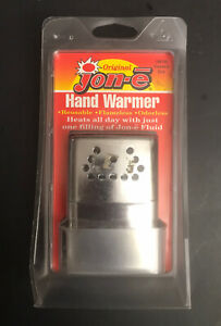 NEW! Original Jon-e Hand Warmer Vintage Standard Size Hand Warmer Sealed In Pkg