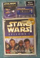 Star Wars Episode 1 Phantom Menace Lucas Books Read Along Book & Cassette NEW