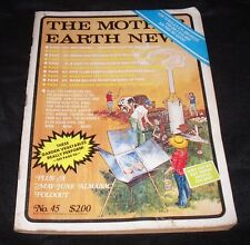 The Mother Earth News May/June 1977 VTG Magazine Homesteading Solar Cookers
