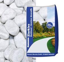 Marmorkies Carrara weiss 60-100mm 25kg Sack Steine Kies Garten
