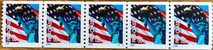 Scott #3982 PNC/5 (39¢) ND Lady Liberty / Flag Plate #S1111 MNH