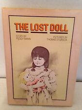 Vintage The Lost Doll Book Story By Peggy Mann Hardcover