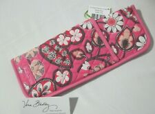 Vera Bradley BLUSH PINK STRAIGHTEN UP & CURL Curling Iron COVER Case BAG  NWT