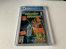 WONDER WOMAN 274 CGC 9.6 ORIGIN AND 1ST APPEARANCE CHEETAH DC COMICS 1980