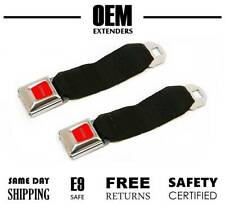 (2 - Pack) Seat Belt Extender / Extension for 1979 Ford F150 / F-150 Pickup
