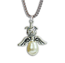 Pit Bull Angel Pearl Necklace