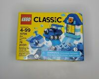 Lego Classic Ages 4-99 10706 Blue Creativity Box 78 Pieces New Sealed