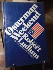 Robert Ludlum, The Osterman Weekend, Signed, 1st Edition,1st Edition, Like New