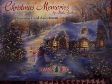 Leanin Tree Christmas Card Set Christmas Memories Thomas Kinkaid Style 20 Pk New