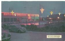 BUTLINS  SKEGNESS THE SWIMMING POOL BY NIGHT   S 17. PC