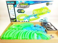 Kids RC Electric Radio Control Slot Car Racing Track Set Childrens Toy Race Game