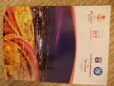 Programme Europa League: FC Steaua Bucaresti - SSC Napoli 30.09.2010