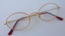 Ovale Unisex Brillenfassungen aus Metall für Erwachsene