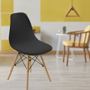 Shell Chair Seat Cover Modern Hotel Kitchen Slipcover Chair Protector Cover