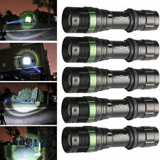 5PCS Ultrafire 6000LM 3-Modes CREE XML T6 LED Torch Light 18650 Rechargeable