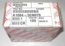 100 Autentico HELICOIL INOX a1084-5cn075 ELICOIDALE thread insert M5 X 0.8 5mm