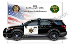 Ford Explorer Orange County Sheriff's Department  - Patrol Car Profile