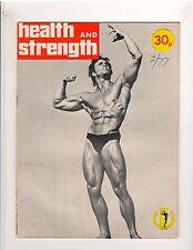 Health and Strength Bodybuilding Magazine/Steve Davis 1977 vol 106  #2 GB