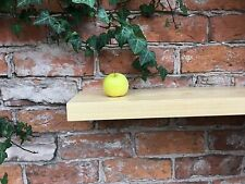 Wooden 40cm Matt Wall Floating Shelf Storage Rack Display Shelving New
