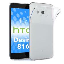 Schutz Hülle für HTC Desire 816 Case Silikon Handy Cover Transparent