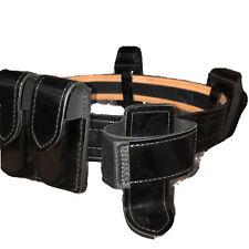 Safariland Leather Police Service Duty Utility Belt Multiple Attachment Glock
