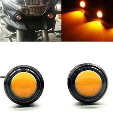 4x Amber LED Grille Fog Lights Raptor Style For Toyota FJ Cruiser 4Runner Tacoma