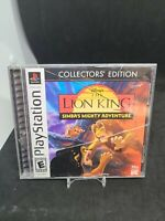 Lion King Simba's Mighty Adventure Collector's (Sony Playstation 1 ps1) Complete
