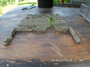 50 STONE WALLING 00 GAUGE SCENERY FULLY PAINTED SUIT TRAIN COACH BRAND NEW