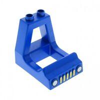 1 x Lego Duplo Führerhaus blau LKW Auto Aufsatz Kabine Kanzel Wagen Fahrzeug Set