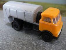 1/87 Brekina DAF DO 2000 Müllwagen gelb/grau NL 85223