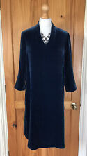 Seasalt - Silk Velour - Hollyhock Dress - Harbour Blue - Size 12 - BNWT