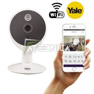 Caméra wifi Yale YWIPC-301W résolution HD720 canal audio gestion avec APP