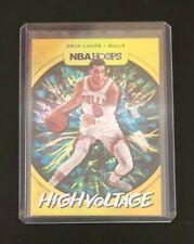2019-20 Panini NBA Hoops Zach Lavine High Voltage Holo Foil Insert #21 FREE SHIP